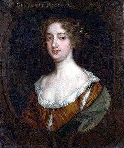 Aphra Behn, 1640-1689